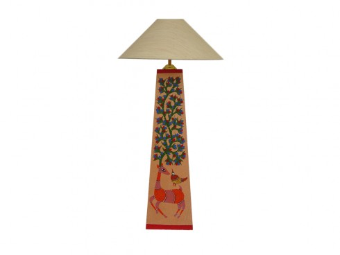 Wooden Gond Lamp