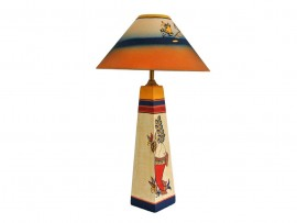 Wooden Fish Lamp - Simmer Gold