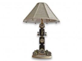 Jute Dhokra Lamp