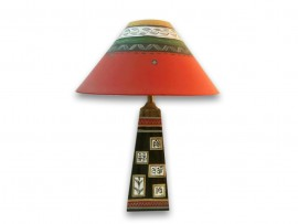 Dhokra Patch Lamp