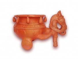 Horse With Pot