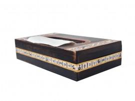 Wooden Tissue Paper box