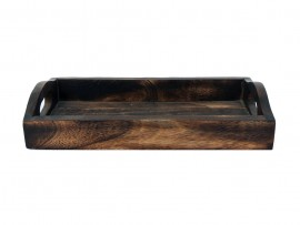 Wooden Tray with 2 Jaars Set