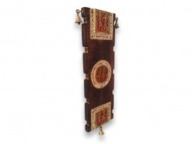 Wooden Wall Decoration Antique  with Dhokra Art